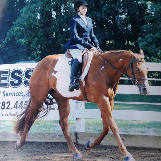Abigayle Wright, Barrel Racing