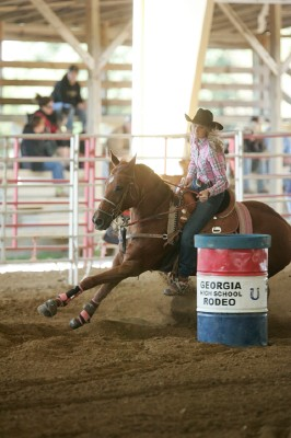 Anna Howard, Barrel Racing