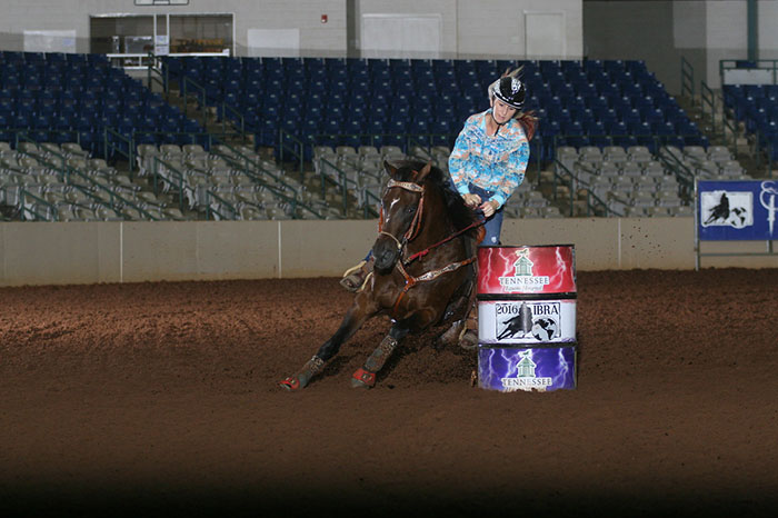 Blane Johnson, Barrel Racing