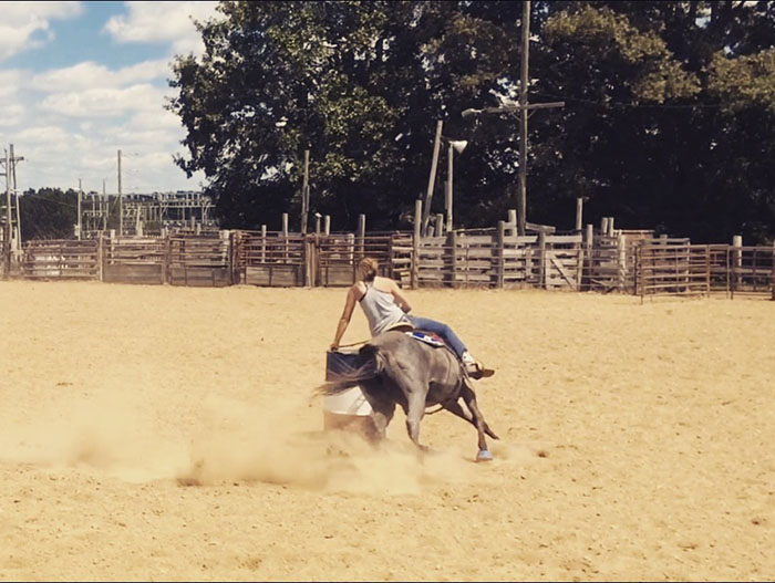 Brayden Gruben, Barrel Racing