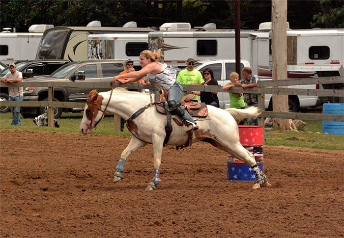 Brittany Euard, Barrel Racing