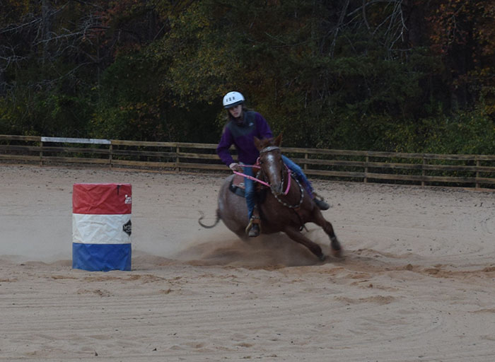 Brooke Osbourne, Barrel Racing