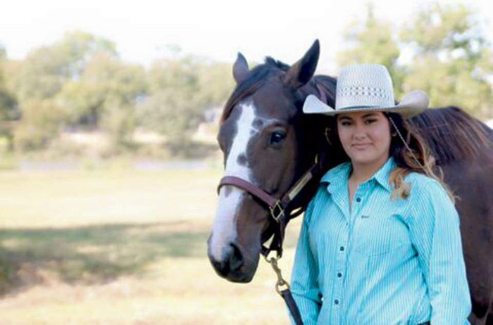 Christianne Clegg, Barrel Racing
