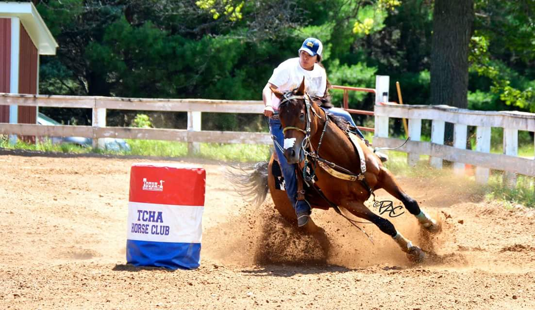 Elena Maule, Barrel Racing