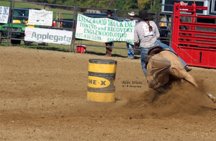 Hannah Bope, Barrel Racing