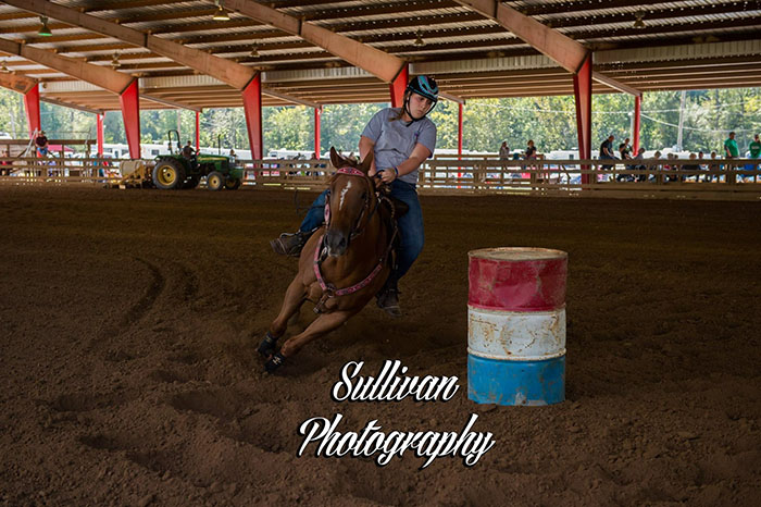 Heather Collins, Barrel Racing