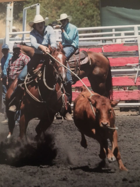 Holly Cecil, Barrel Racing