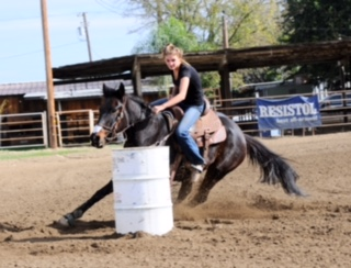 Kamrynn Bonsell, Barrel Racing