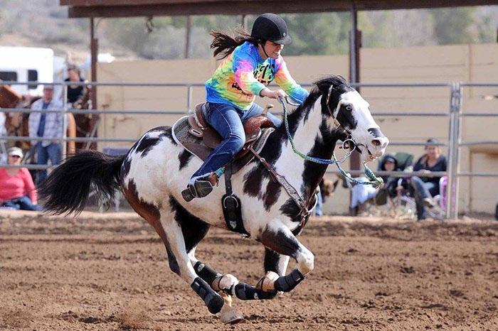 Kara Benavidez, Barrel Racing
