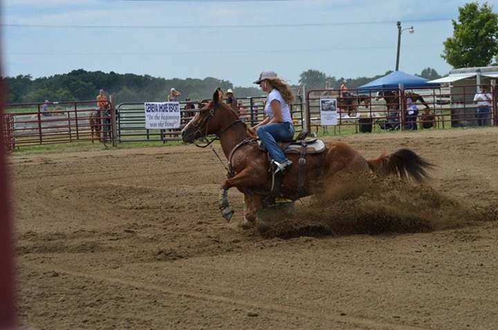 Kelsey Hallin, Barrel Racing