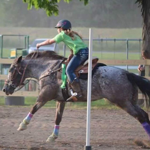 Kelsey Seddon, Barrel Racing