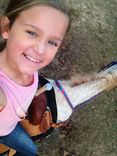 Kinley Starkey, Barrel Racing