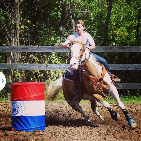 Kyrra Davidson, Barrel Racing