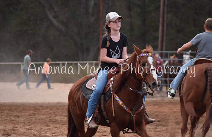 Lexi Waldrup, Barrel Racing