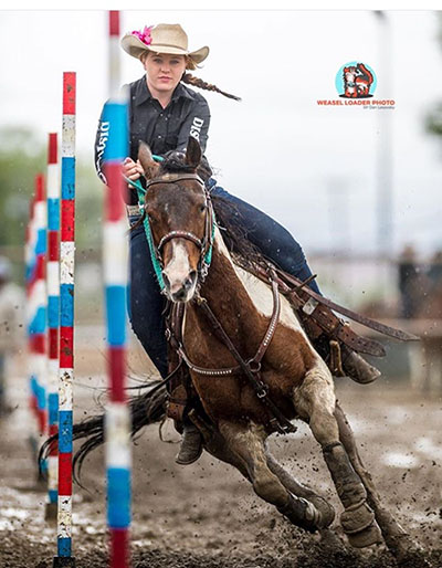 Madalyn Batchelder, Barrel Racing