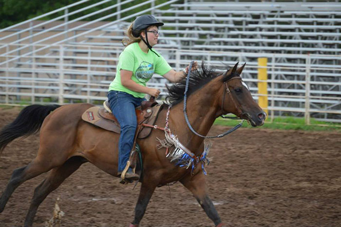 Maddi Moericke, Barrel Racing