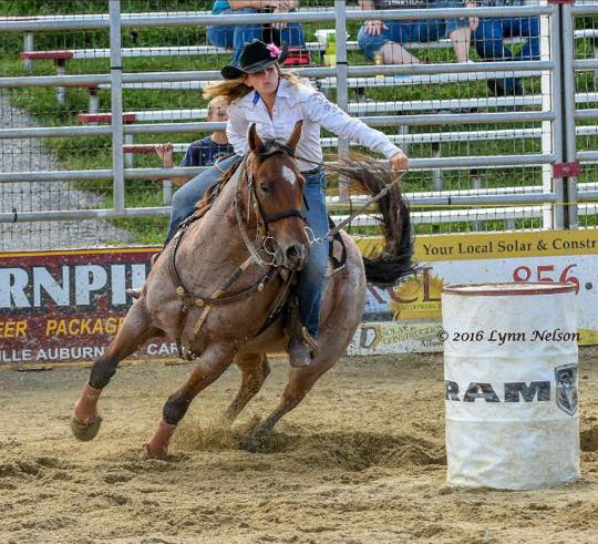 Megan Montgomery, Barrel Racing