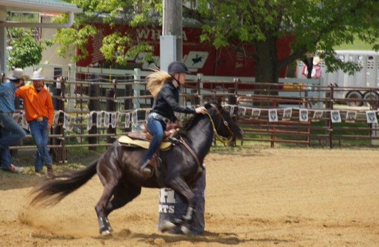 Rachael Cieslak, Barrel Racing