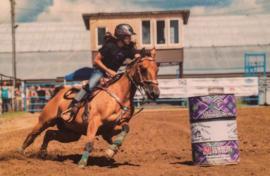 Sarah Hammond, Barrel Racing
