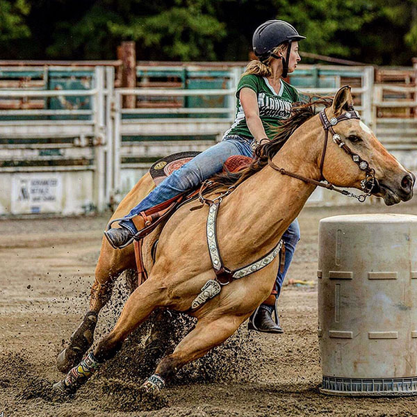 Trinity Daily, Barrel Racing