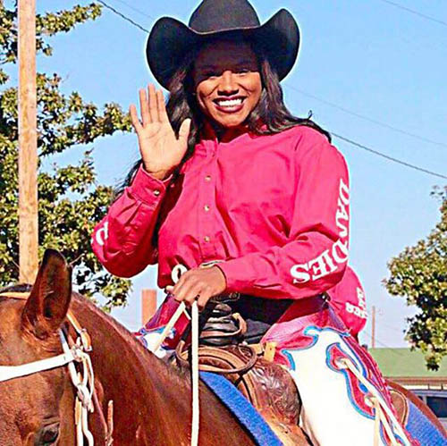 Ja'Dayia Kursh, Barrel Racing