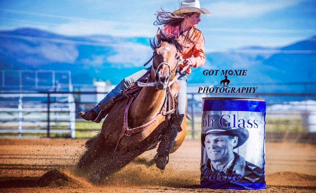 Ally Wright, Barrel Racing