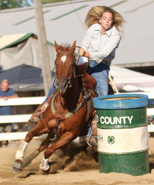 Autumn Jones, Barrel Racing