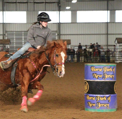 Brooke Easley, Barrel Racing
