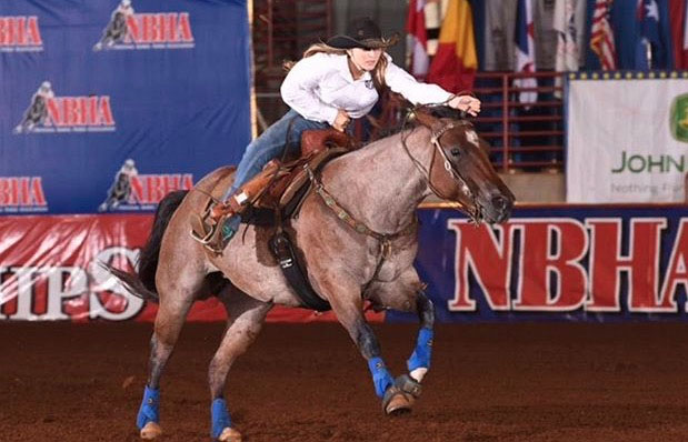 Bryce Corte, Barrel Racing