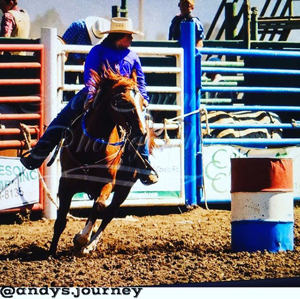 Callie Brown, Barrel Racing
