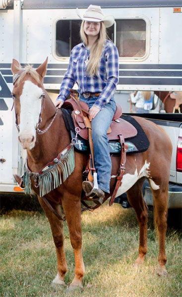 Cearah Jones , Barrel Racing