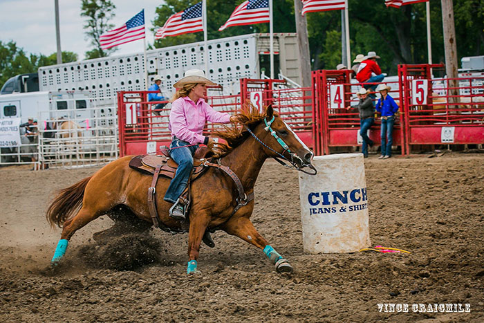 Grace Nelson, Barrel Racing