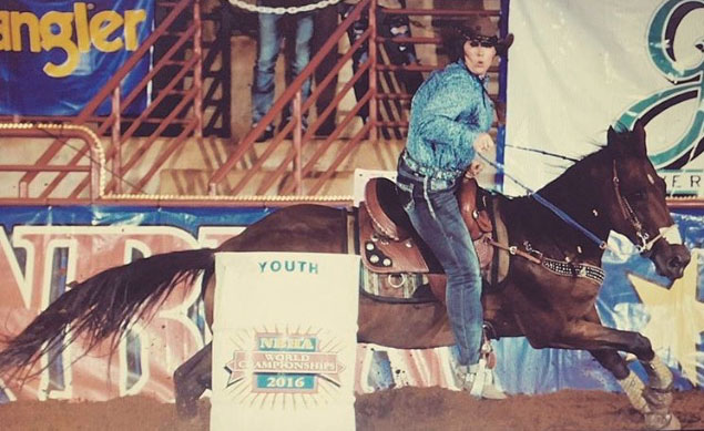 Hannah Phillips, Barrel Racing
