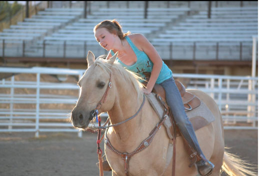Holly Fisher, Barrel Racing