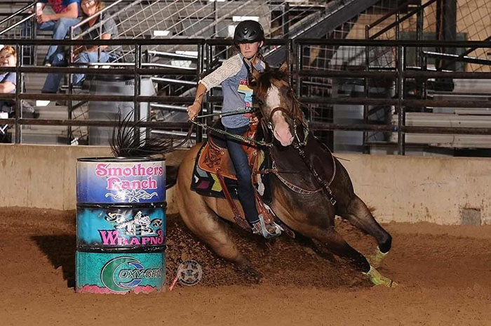 Hope Butler, Barrel Racing