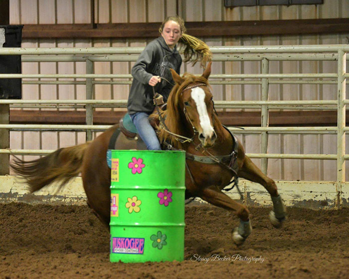 Jaci Combs, Barrel Racing