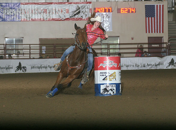 Jillian Delaney, Barrel Racing