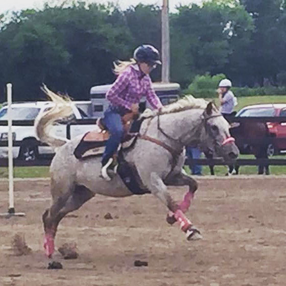 Kailey Isenberg, Barrel Racing