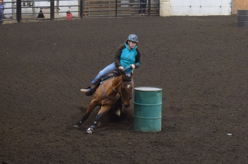 Kassidy McClure, Barrel Racing