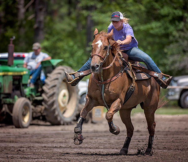 Kathryne Marion, Barrel Racing