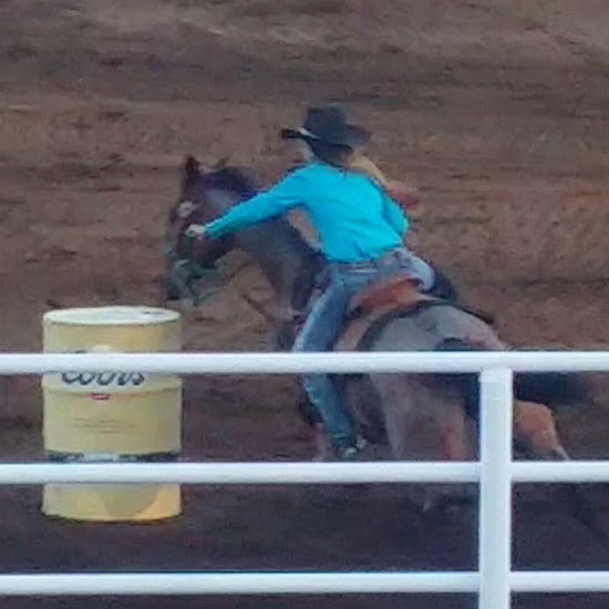 Kaylee Barker, Barrel Racing
