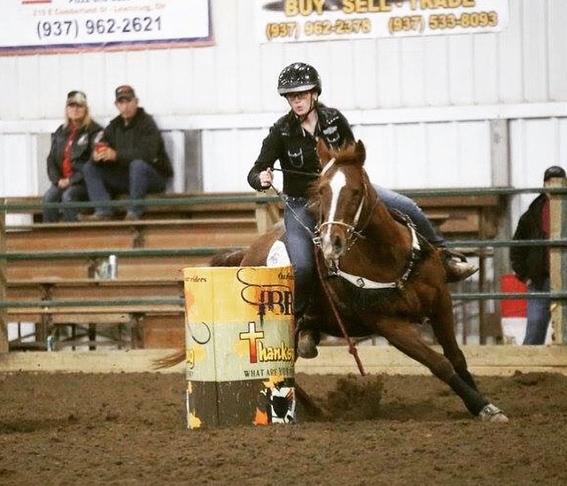 Leslie Sloan, Barrel Racing
