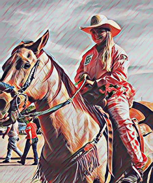 Mckenzie Reed, Barrel Racing
