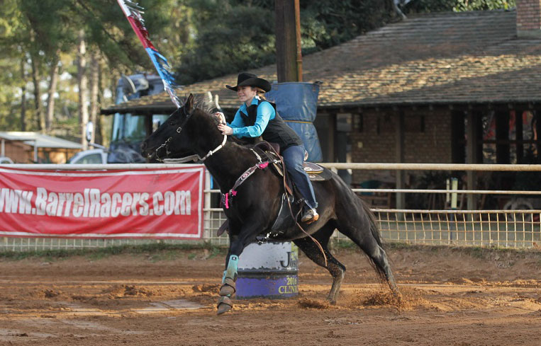Michelle Youngblood, Barrel Racing