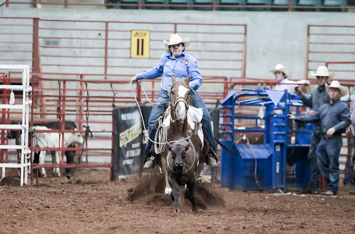 Sarah Gilbert, Barrel Racing