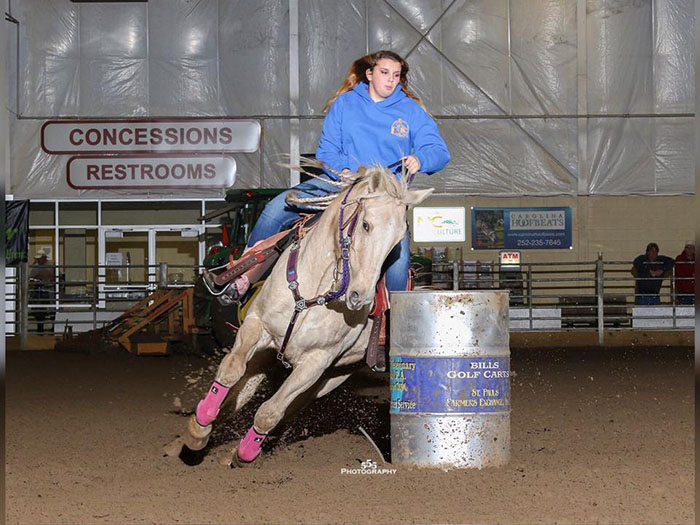Savannah Powers, Barrel Racing