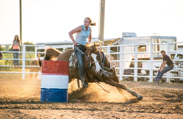 Taylar Snyder, Barrel Racing