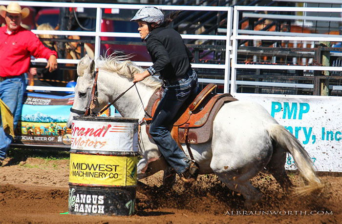 Tana Dirks, Barrel Racing