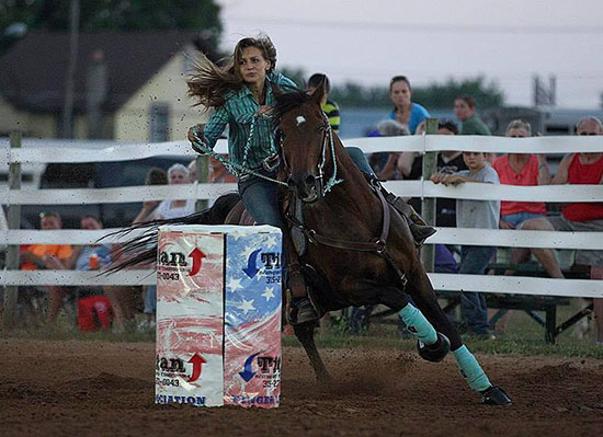 Amanda Mohr, Barrel Racing