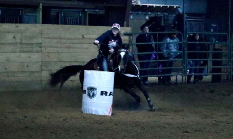 Aubry Riggins, Barrel Racing